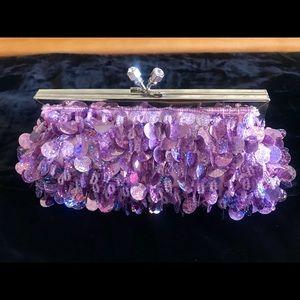 Handbags - Purple Party purse!